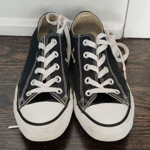 Black Canvas Converse Chuck Taylors